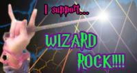 Let's wrock and rowl!  For anyone who likes wrock (wizard rock) or AVPM (a very potter musical)