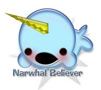 We believe in unicorns beneath the sea! :D