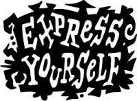 a place where people can write about how they like to express themselves in anyway possible.....  never be afraid to be yourself