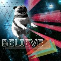 For those who believe in the power of the pug.